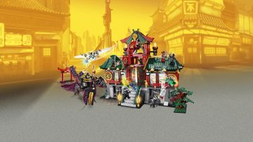 Le Temple de Ninjago City