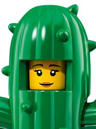 LEGO Minifigures Girl in Cactus Costume portrait