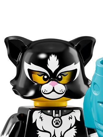 LEGO Minifigures Girl in Cat Costume portrait