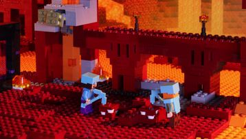 La forteresse du Nether – Animation