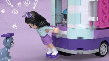 Le stand d'art d'Emma 41332 – LEGO® Friends – Animation sur le produit