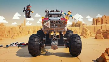 Emmet and Lucy's Escape Buggy! – 70829 – THE LEGO® MOVIE 2™ – Product Animation