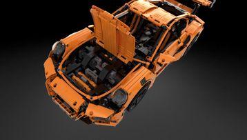 Prohlédni si LEGO Technic Porsche 911 GT3 RS