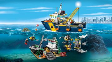 Deep Sea Exploration Vessel