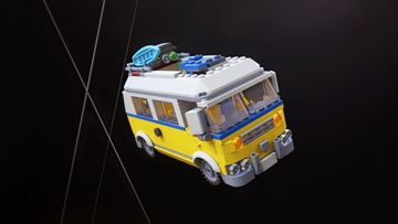 Heat up the Adventure with the LEGO® Creator 3in1 31079 Sunshine Surfer Van
