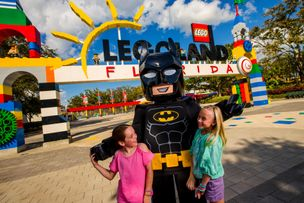 Gotham City's Caped Crusader at LEGOLAND®