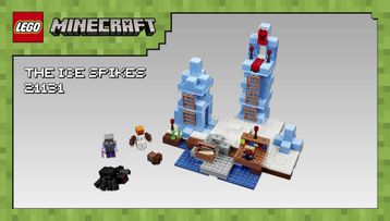 LEGO® Minecraft - Skin Pack 853610 - Model Presentation