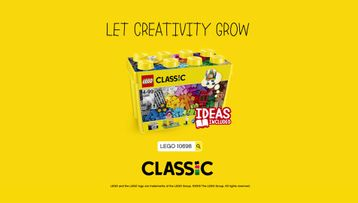 10698 La boîte de briques créatives deluxe LEGO® Classic