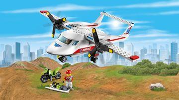 LEGO City Les super véhicules Sauvetage en avion – L'avion ambulance 60116