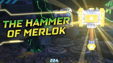 LEGO NEXO KNIGHTS Merlok Power The Hammer of Merlok