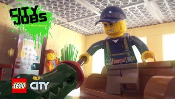 LEGO City Studio City Jobs  Episode 2 EMT Squared
