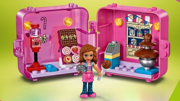 41407 - Olivia's Shopping Play Cube