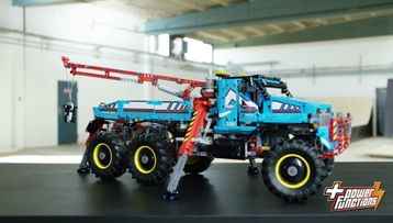 Check out the LEGO® Technic 6x6 All Terrain Tow Truck