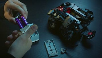 Get your hands on the App-Controlled Batmobile!