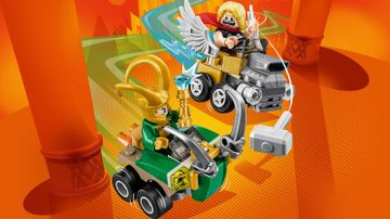 76091 Mighty Micros Thor vs Loki