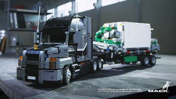 Le camion Mack® Anthem™ de LEGO® Technic est le nouveau roi de la route !