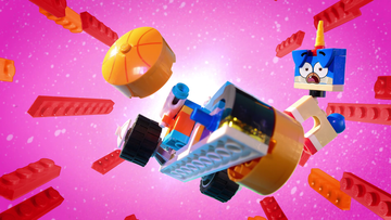 LEGO_Unikitty_A ruff race