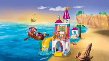 41160 Ariels Seaside Castle