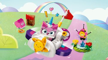 LEGO Unikitty - 41451 Unikitty Cloud Car - Float around with Unikitty in the car, shooting sparkle matter from it as she goes, and meet up with her friends in the park.