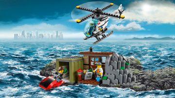 LEGO City: kryjówka minifigurek złodziejaszków — Wyspa rabusiów 60131