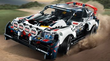 Auto de Rally Top Gear Controlado por App
