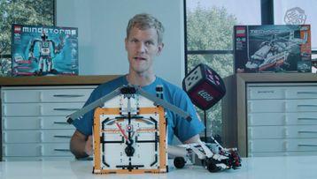 Guarda l'Orologio a cucù LEGO MINDSTORMS in azione per scoprire tutti i suoi affascinanti dettagli.
