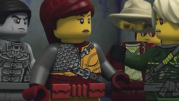 LEGO NINJAGO Story The Resistance Never Quits