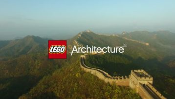 LEGO Architecture Great wall of china and Statue of liberty video