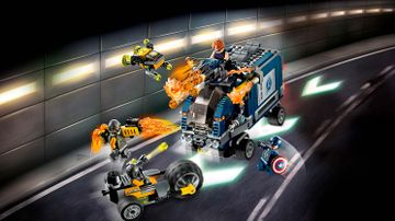 Avengers - Attacco del camion