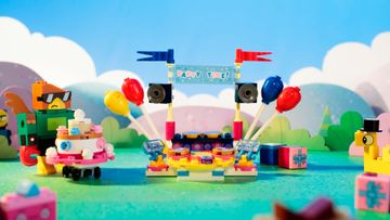 41453 Evil Unikitty clone crashes birthday party LEGO Unikitty Animation