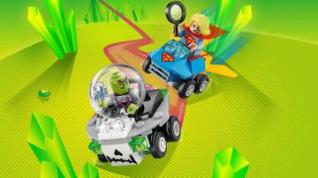 76094 Might Micros Supergirl and Braniac