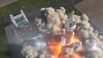 Launch a rocket into deep space -- LEGO City Video