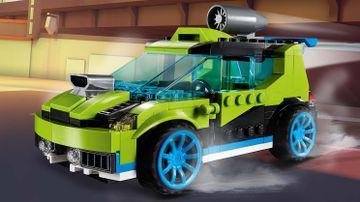 Rakettdrevet rallybil