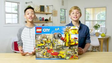 LEGO® City Mining Experts Site Unboxing - The Build Zone