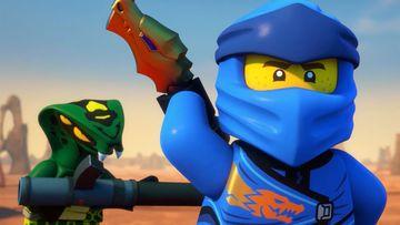 Geschichten aus dem Kloster des Spinjitzu– Teil3– Blauer Blitz– LEGO®NINJAGO®