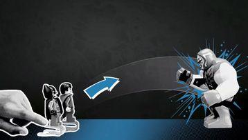 DC Super Jumpers: Schietoefeningen