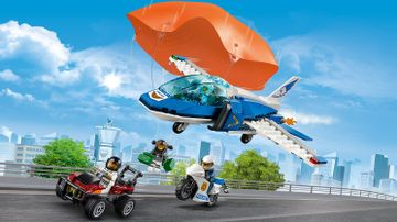 60208 Sky Police Parachute Arrest