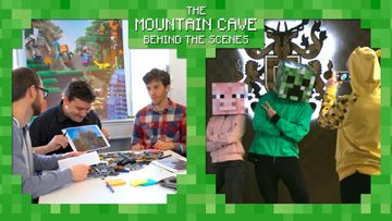 Mojang Special Mountain Cave product reveal video