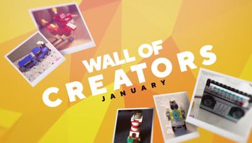 Wall of Creators January