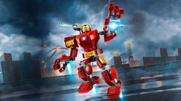Le robot d'Iron Man