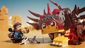 Ultrakatty and Warrior Lucy 70827 THE LEGO MOVIE 2 Product Animation