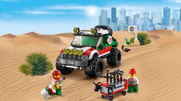 LEGO City Geweldige Voertuigen off-roader met bestuurder en monteur – 4 x 4 voertuig 60115
