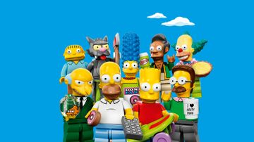 LEGO® minifigurer fra The Simpsons™