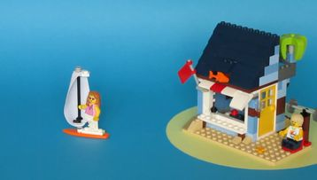LEGO® Creator Beachside Vacation Tips & Tricks!