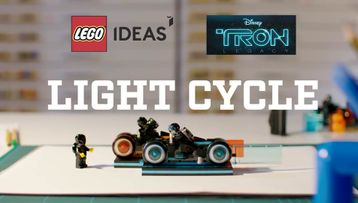 LEGO® Ideas TRON: Legacy Designer Video - 21314