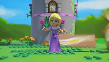 Rapunzel in The Tower