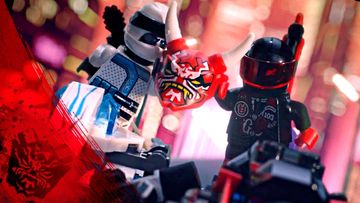 LEGO NINJAGO Ride Ninja Stop Motion The Chase