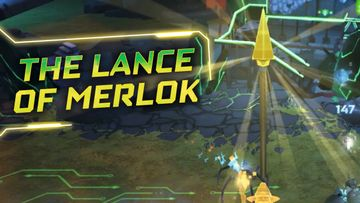 LEGO NEXO KNIGHTS Merlok Power The Lance of Merlok