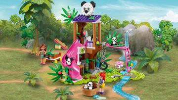 41422 - Panda Jungle Tree House