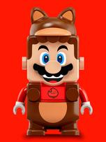 Power up with Tanooki Mario!